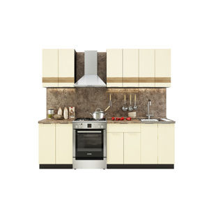 TARRA 180 kuchynská zostava, vanilka 3D/wenge
