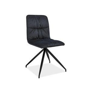 ALEXA jedálenská stolička, grafit