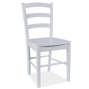 Jedálenská stolička KD-38, biela