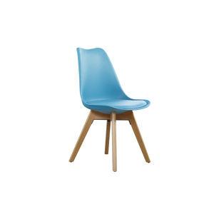 CROSS II jedálenská stolička, svetlý tyrkys