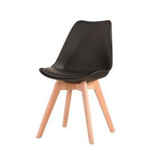 CROSS jedálenská stolička, čierna