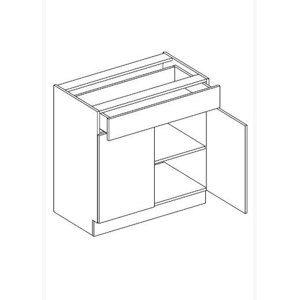 JUSTINA dolná skrinka so zásuvkou D80S1