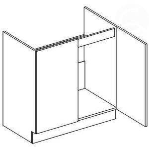 D80ZL dolná skrinka pod drez, vhodná ku kuchyni NORA
