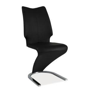 HK-050 jedálenská stolička, čierna