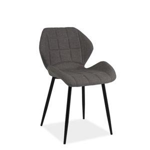 HALLS jedálenská stolička, tmavošedá