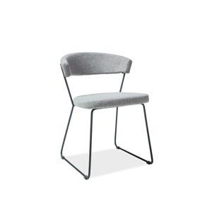 HALIX jedálenská stolička, šedá