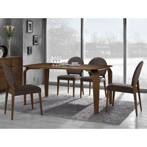 MELLO jedálenský stôl 160x100 cm, orech tmavý