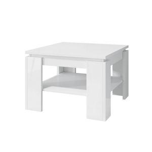 Konferenčný stolík CUBE biely lesk