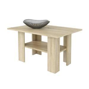 Konferenčný stolík AGATA H43, dub sonoma