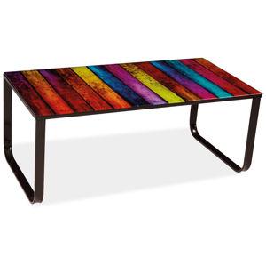 MAX konferenčný stolík, mix farieb
