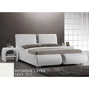 Čalunená posteľ Tokio 180x200, biela