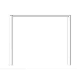 Paspartový rám ku skrini s posuvnými dverami IBIZA 421 950